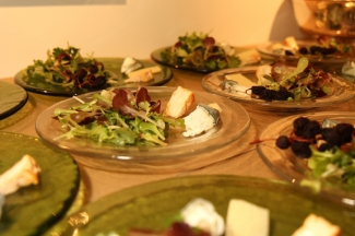 Cheese and Salad Course